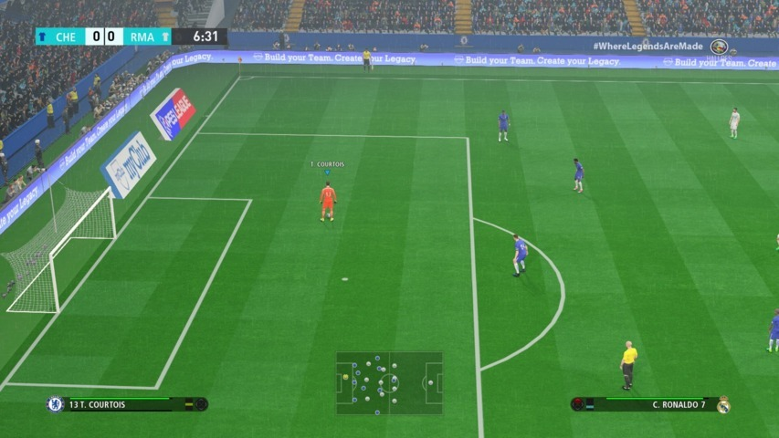 Download Stadium Pack + Graphics PS4 cho PES 2017