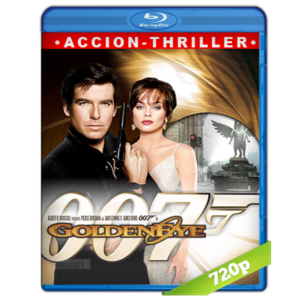 007 GoldenEye (1995) BRRip 720p Audio Trial Latino-Castellano-Ingles 5.1