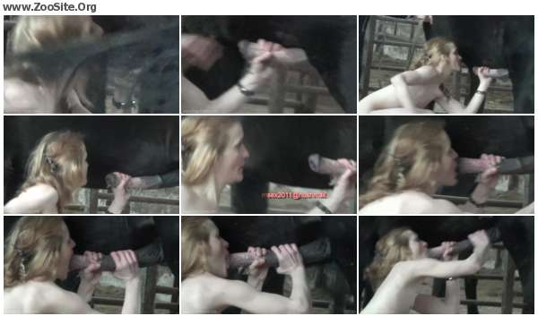 2a0068610351533 - ZooSex Amateur - Nadia - Horse Sex and Donkey Porn