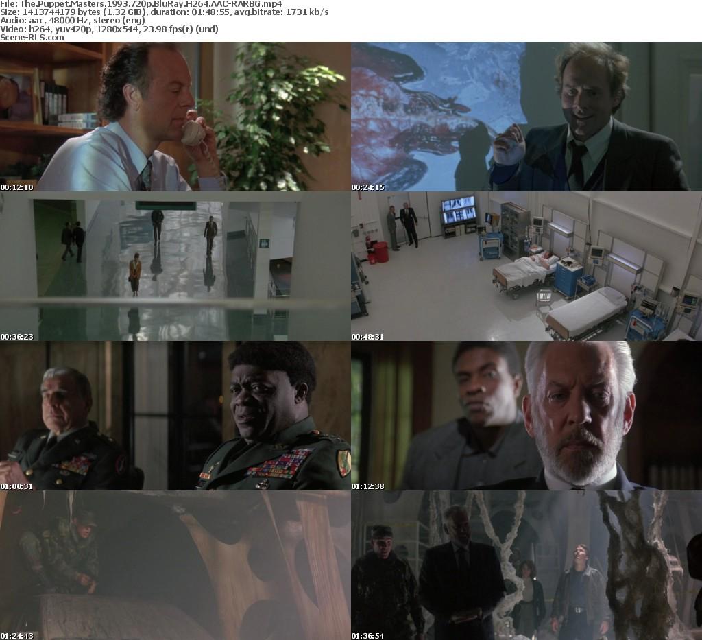 The Puppet Masters 1994 720p Bluray H264 Aac Rarbg Scene Release
