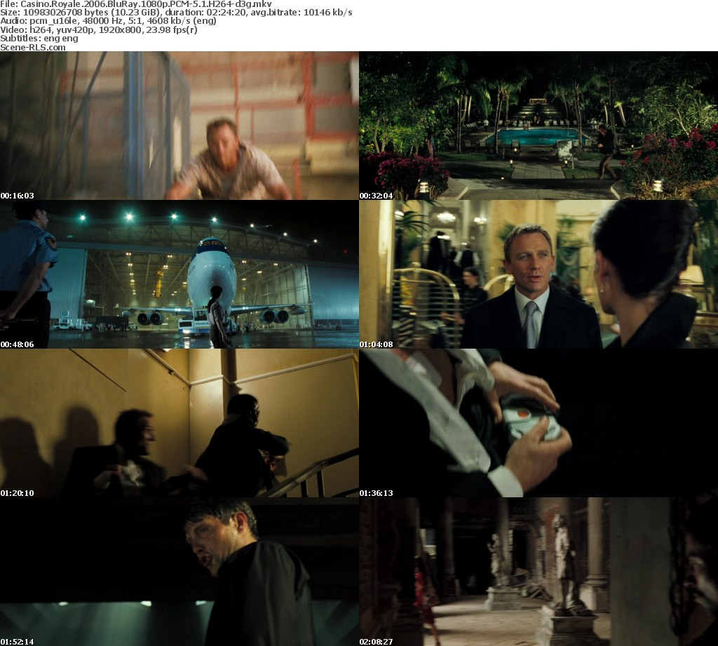 Casino royale 2006 bluray 1080p - 6 card poker hand