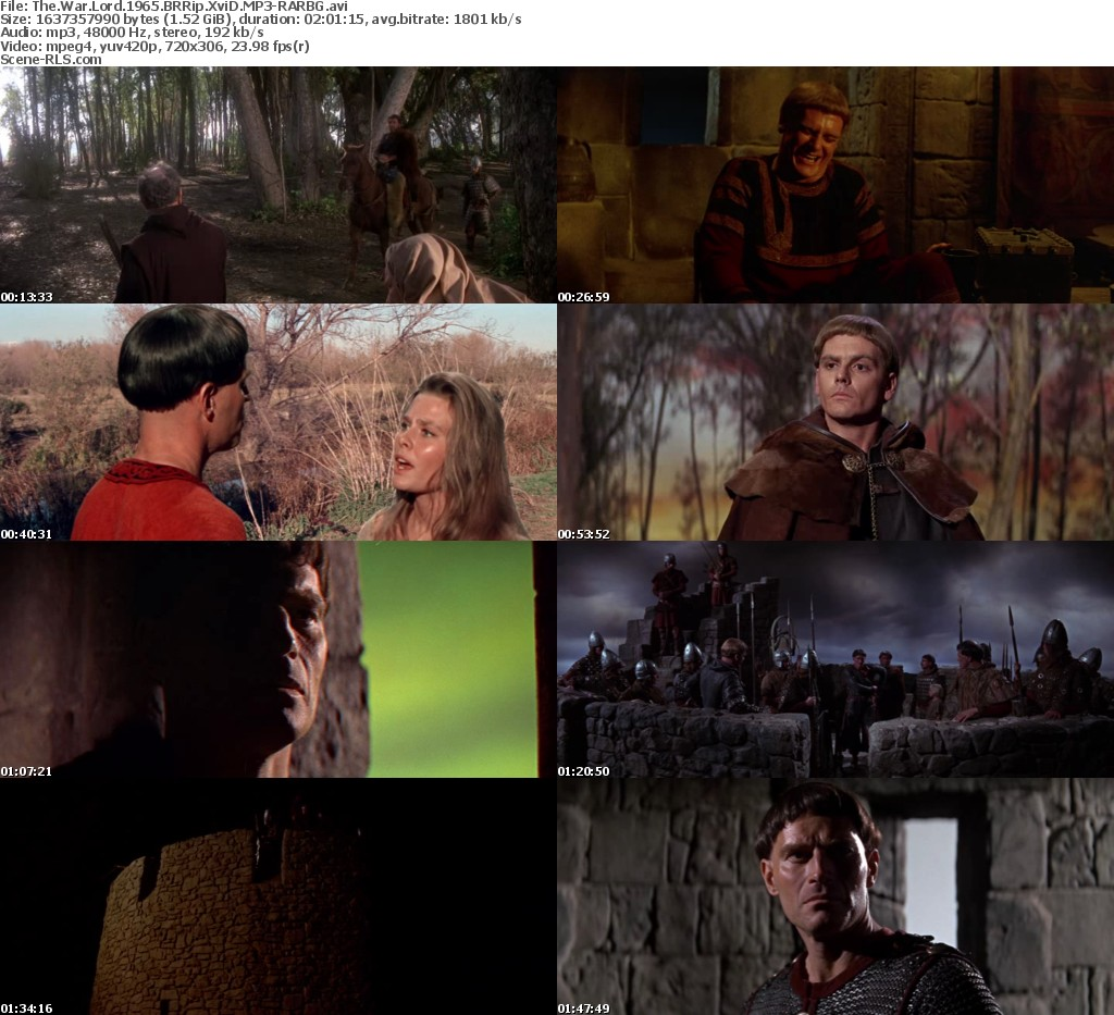the war lord 1965 brrip xvid mp3rarbg scene release