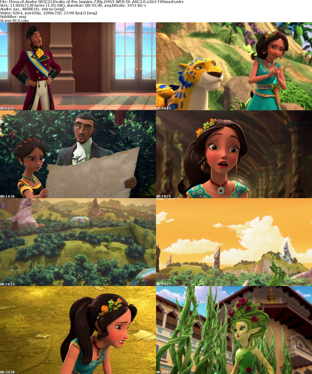 elena of avalor season 1 episode 22 realm of the jaquins