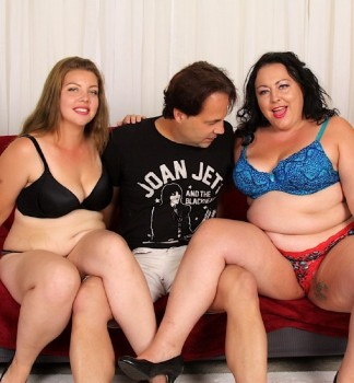 Calista Roxxx, Miranda Kelly - Doubling Down on Plump (2017) 1080p