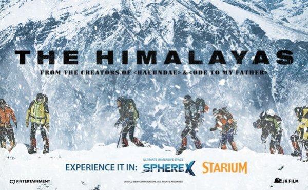 The Himalayas 2015 adalah Film Bertemakan Pendakian Gunung Terbaik dan Terpopuler