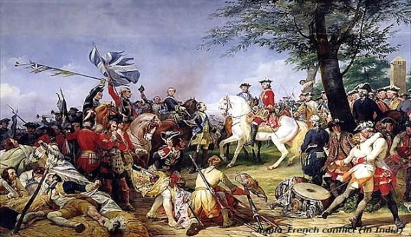 Peperangan Terlama dalam Sejarah Manusia Anglo-French War (602 tahun)
