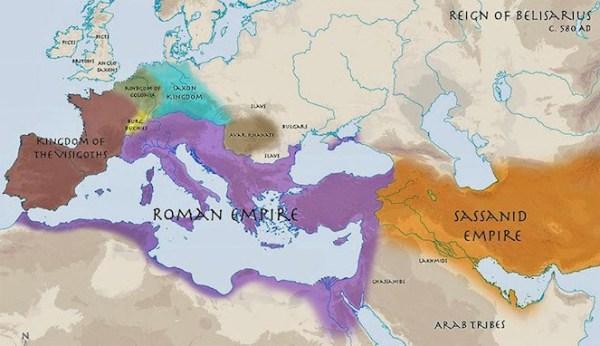Peperangan Terlama dalam Sejarah Manusia Perang Persia-Romawi (537 tahun)